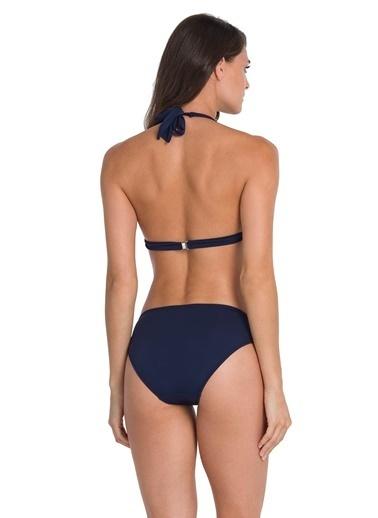 Dagi Uzun Üçgen Bikini Takım Lacivert